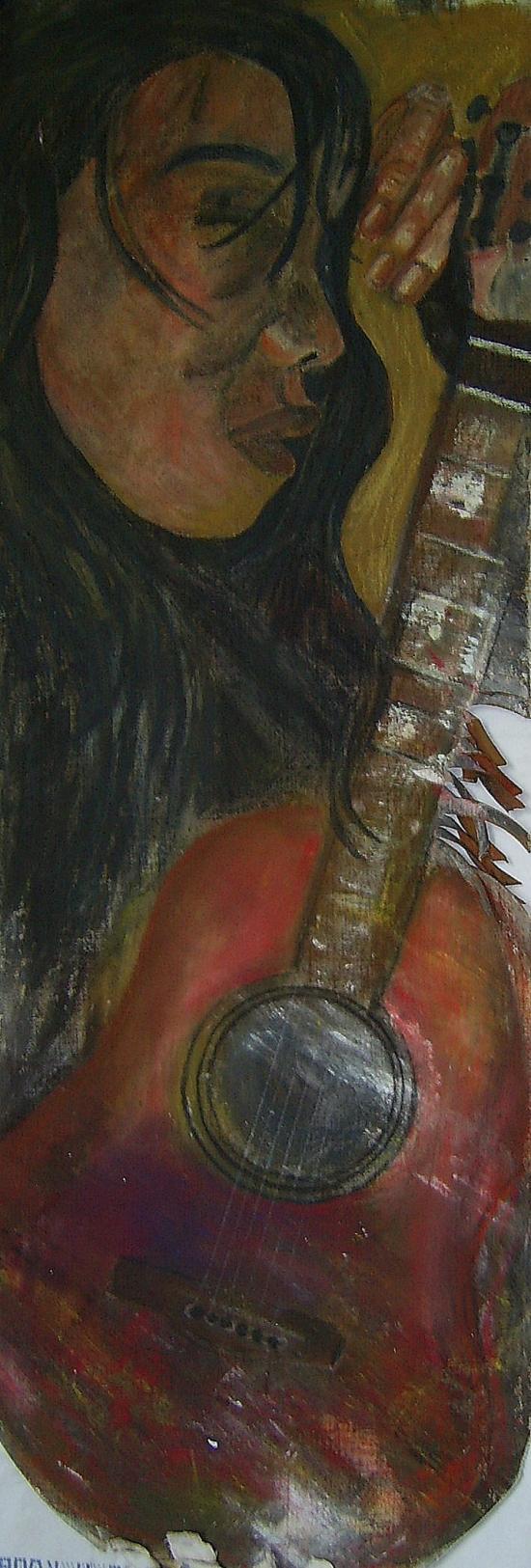 La femme et sa guitare